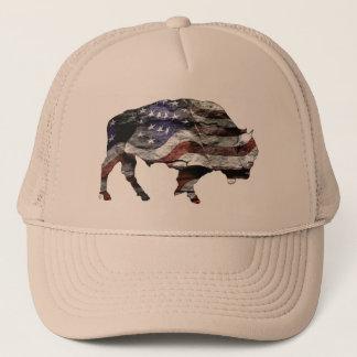 Bison Flag Hat