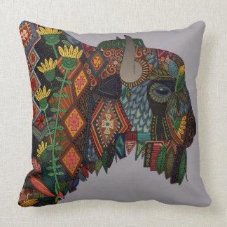bison heather cushion