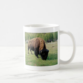 Bison in Yellowstone Coffee Mug