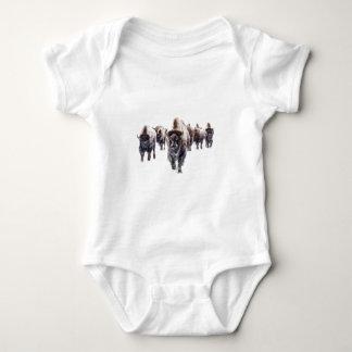 Bison March Baby Bodysuit