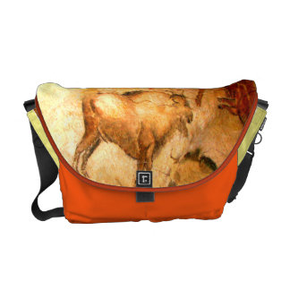 Bison of Altamira Messenger Bags