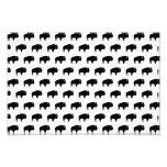 bison pattern photo print