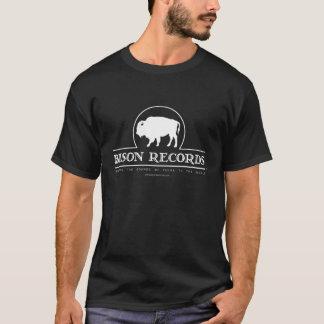 Bison Records Men's Dark T-shirt