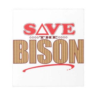 Bison Save Notepad