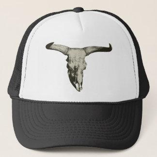 Bison Skull Trucker Hat