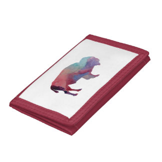 Bison Tri-fold Wallet