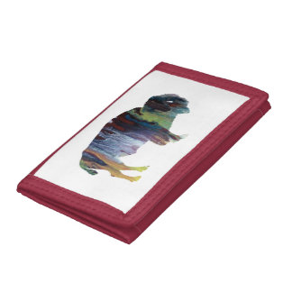 Bison Trifold Wallet