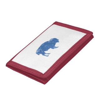 Bison Trifold Wallets