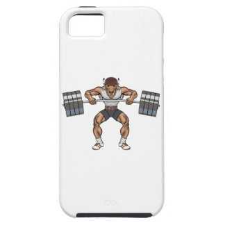 bison weight lifter iPhone 5 case