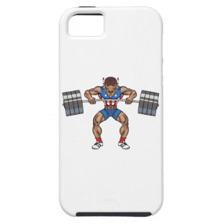 bison weight lifter iPhone 5 cover