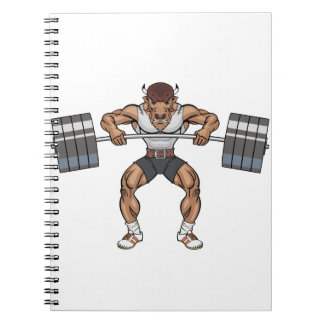 bison weight lifter notebooks