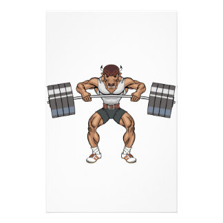 bison weight lifter stationery