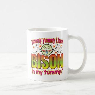 Bison Yummy Freak Basic White Mug