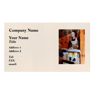 Bisque Doll for Sale Business Card Templates
