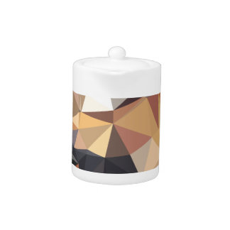 Bisque Gray Abstract Low Polygon Background