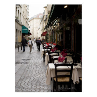 Bistro in Paris 2 Postcard