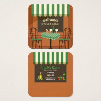 bistro restaurant business card
