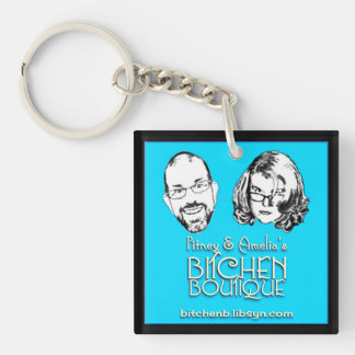 Bitchen Boutique Logo Keychain