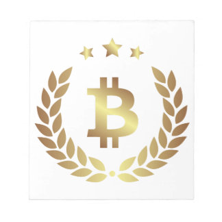 Bitcoin 12 notepad