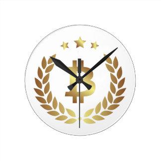 Bitcoin 12 round clock