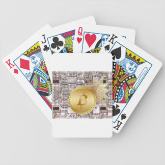 Bitcoin 18 bicycle playing cards