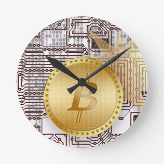 Bitcoin 18 round clock