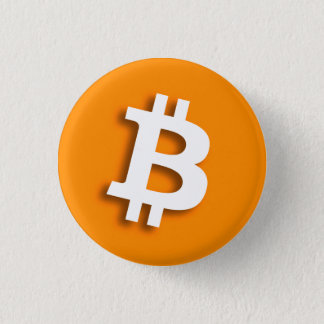 """BITCOIN"" 1.25-inch 3 Cm Round Badge"