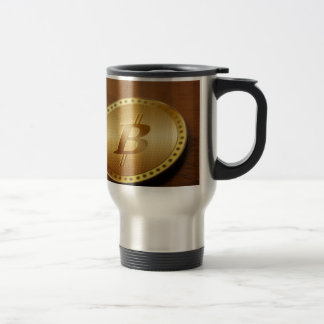 Bitcoin 2 travel mug