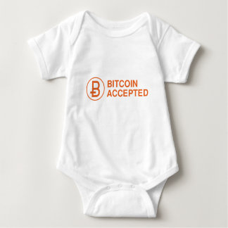 Bitcoin Accepted Baby Bodysuit