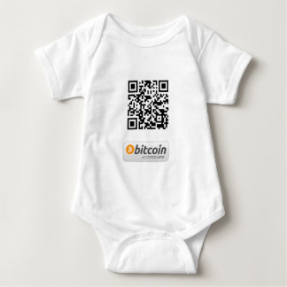 Bitcoin Accepted Here Baby Bodysuit