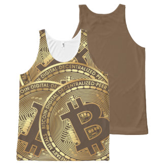 Bitcoin All-Over Print Singlet