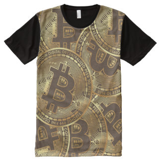 Bitcoin All-Over Print T-Shirt