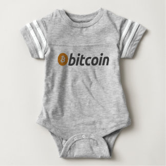 Bitcoin Babysuit Baby Bodysuit