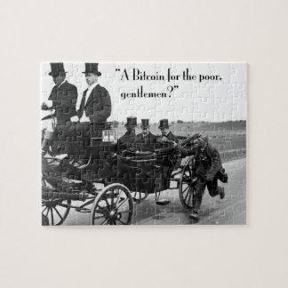 Bitcoin Beggar Jigsaw Puzzle