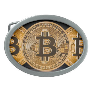 Bitcoin Belt Buckle
