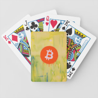 Bitcoin Bicycle Playing Cards