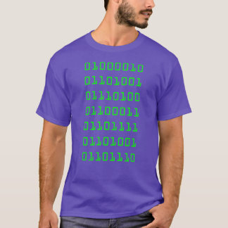 Bitcoin Binary (Silicon Valley) T-Shirt