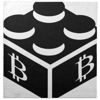Bitcoin Block / Blockchain Napkin