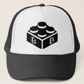 Bitcoin Block / Blockchain Trucker Hat