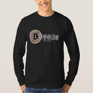 Bitcoin Bo$$ Longsleeve Tee