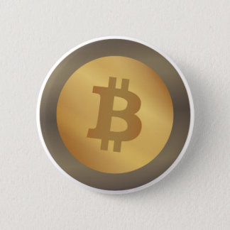 Bitcoin (BTC) 6 Cm Round Badge