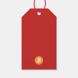 Bitcoin BTC Gift Tag