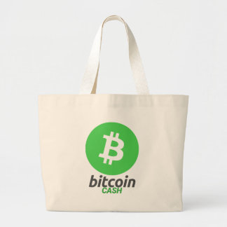 Bitcoin Cash - Cryptocurrency Alliance Super PAC Large Tote Bag