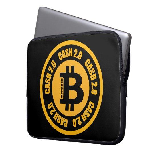 Bitcoin Cash Version 2.0 Laptop Sleeve