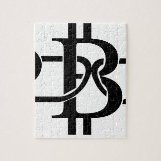 Bitcoin Chain Jigsaw Puzzle