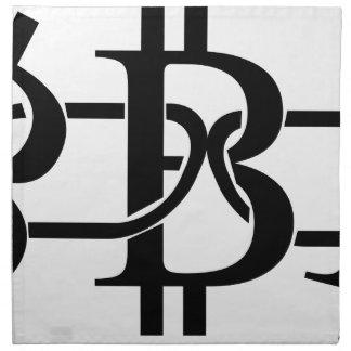 Bitcoin Chain Napkin