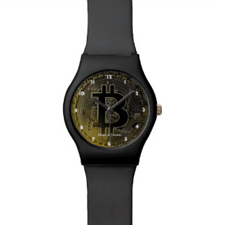 Bitcoin Coins Wrist Watch