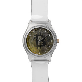 Bitcoin Coins Wristwatch