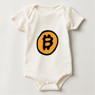 bitcoin collection baby bodysuit