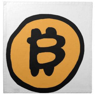bitcoin collection napkin
